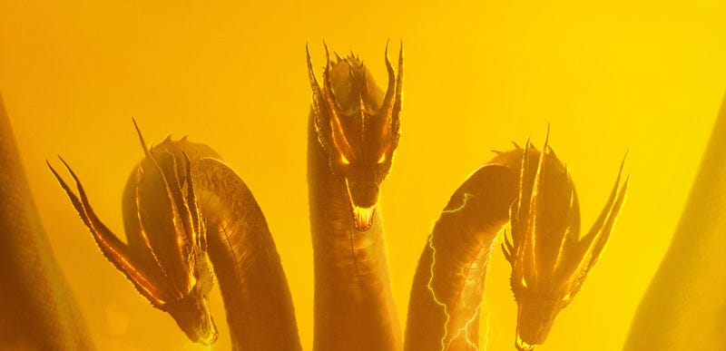 A crop of the Ghidorah poster.