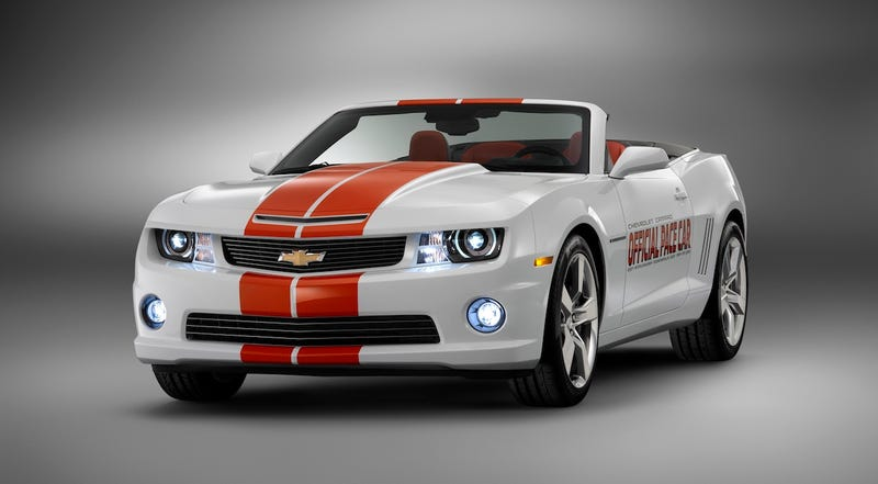 Illustration for article titled Chevy Camaro SS Drops Top As Official Indy 500 Pace Car
