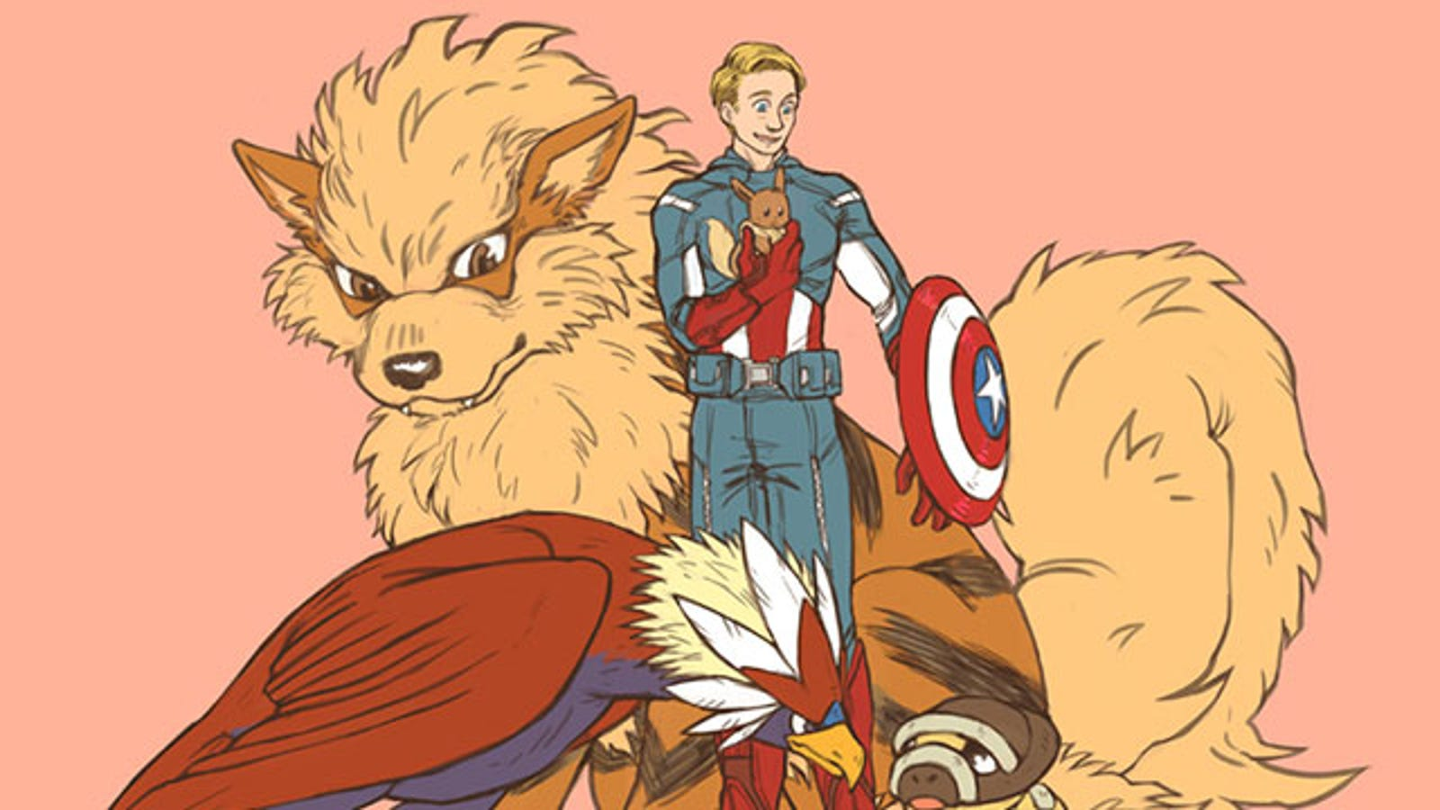 Sure, Put Pokémon and The Avengers Together, Nobody is