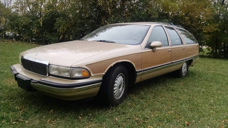 1994 buick roadmaster estate wagon: the oppositelock review