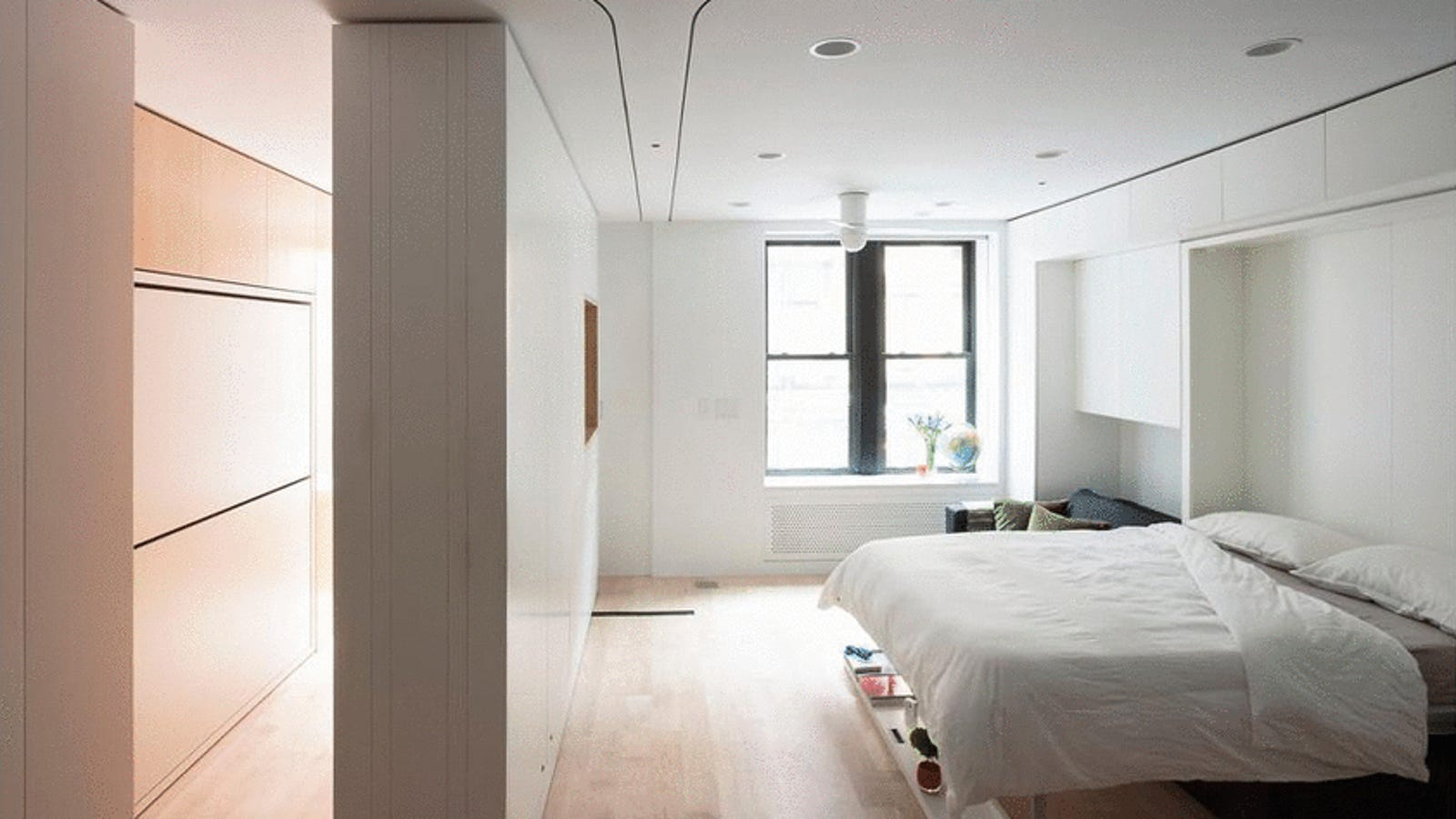 Incredible Transforming Apartments Turn Tiny Rooms Into Spacious Homes