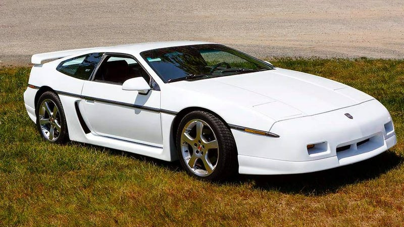 at 18 000 could this custom chopped 1987 pontiac fiero. Black Bedroom Furniture Sets. Home Design Ideas