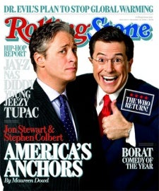 Illustration for article titled The Daily Show and Colbert Report Return Jan. 7, Sans Striking Writers