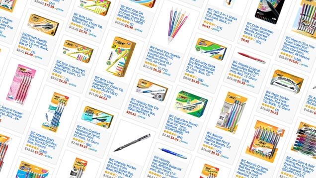 Stock Up On Office Supplies From This One-Day Amazon Bic Sale