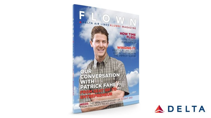 """Flown editors say each issue will feature a """"Rare Air"""" section that will highlight notable accomplishments by various Delta and Delta Connection alums."""