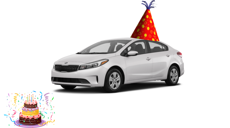 Illustration for article titled Happy Birthday Kia Forte!