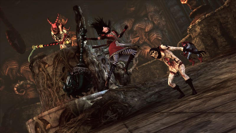 Illustration for article titled Going Crazy For Alice: Madness Returns