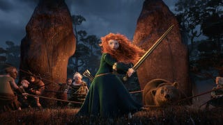 Illustration for article titled Brave director Mark Andrews explains why Merida isn't your typical Disney princess