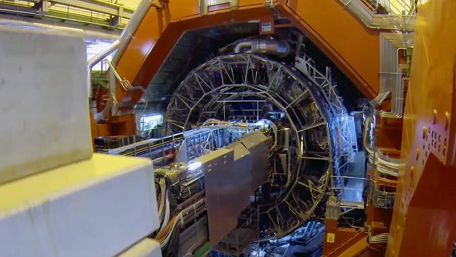El LHC del CERN como nunca lo habías visto: desde un dron
