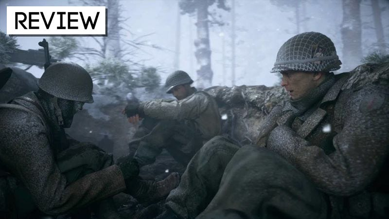 Illustration for article titled Call of Duty: WWII:The Kotaku Review