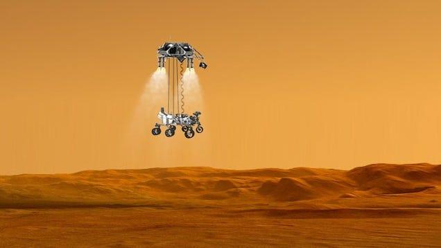 mars rover landing animation - photo #9