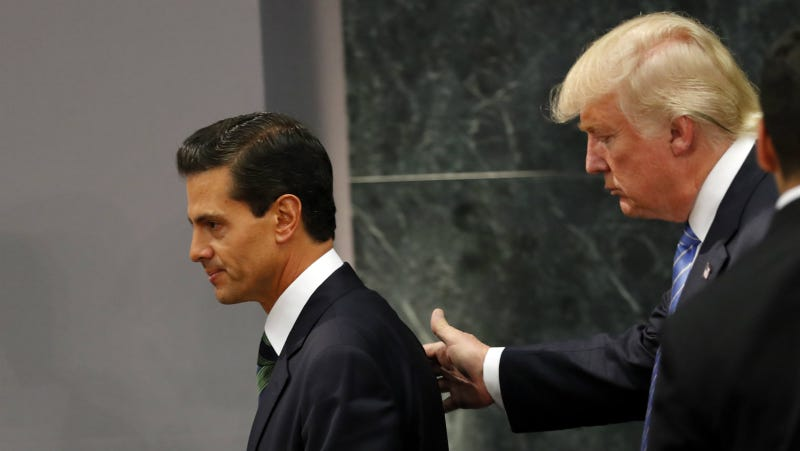 Two men in Mexico City having a wonderful time, August 31, 2016. Photo via AP.