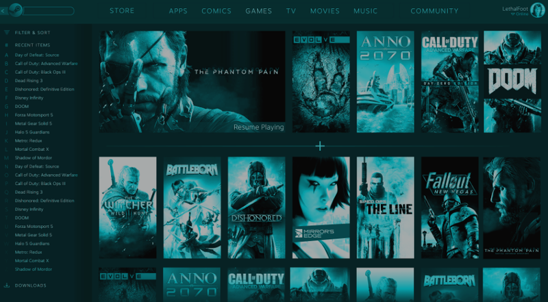 Illustration for article titled Steam Users Uncover Images Of Possible New Steam UI