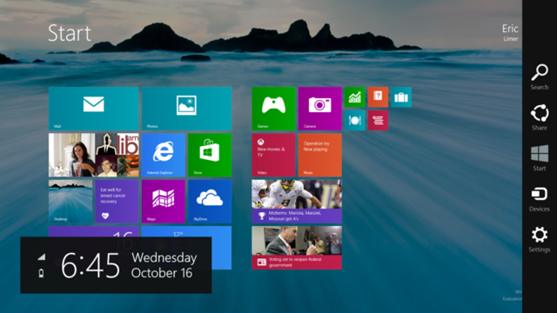 Illustration for article titled Report: Windows 8.1 Update May Scrap Tile Interface By Default