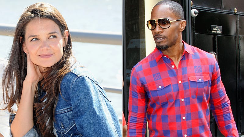 Illustration for article titled Katie Holmes and Jamie Foxx Are Boning, Insists the Rumor Mill