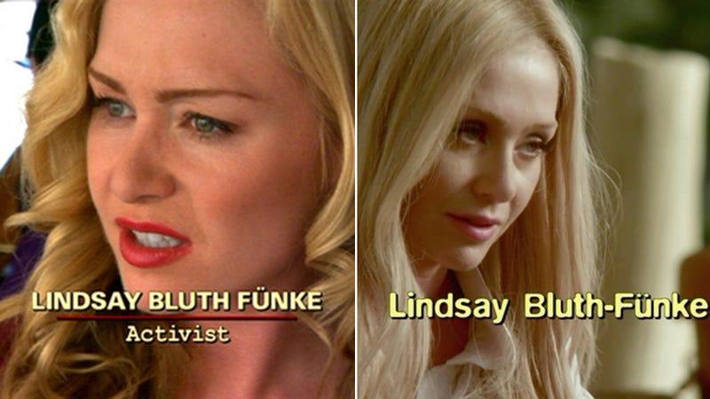 Lindsay Bluth S Face Overshadows Arrested Development Comeback