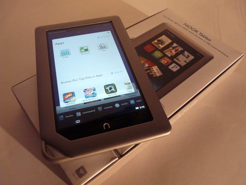 Illustration for article titled How To Setup E-mail On Nook Tablet?