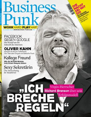 Illustration for article titled Today I learned there is a German magazine called Business Punk