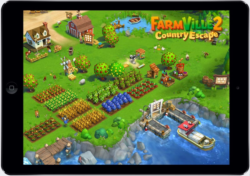 Illustration for article titled Zynga Boosts Its Mobile Lineup With New FarmVille, Words With Friends