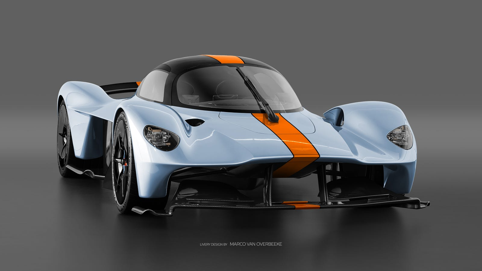 The Aston Martin Valkyrie Looks Especially Good In Classic