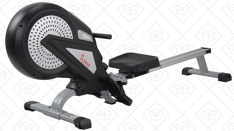 Sunny Health & Fitness Magnetic Rower, $230