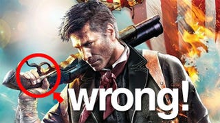 Illustration for article titled The Real Problem With BioShock Infinite's Box Art: Poor Trigger Finger Discipline