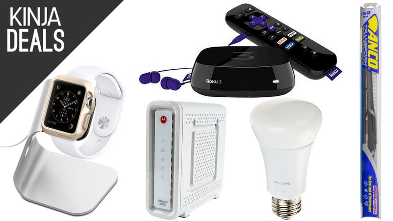 Illustration for article titled Today's Best Deals: The Newest Roku, Apple Watch Charger, and More