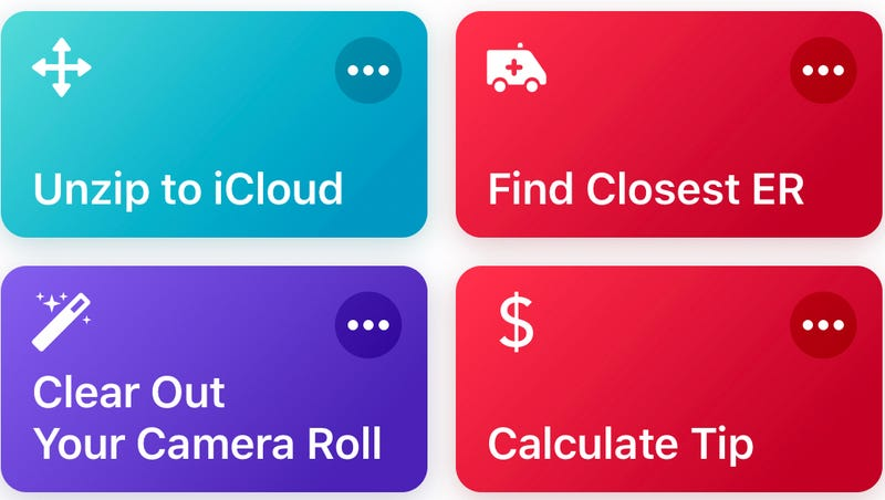 Illustration for article titled Unzip Files on Your iPhone With This Speedy iOS Shortcut