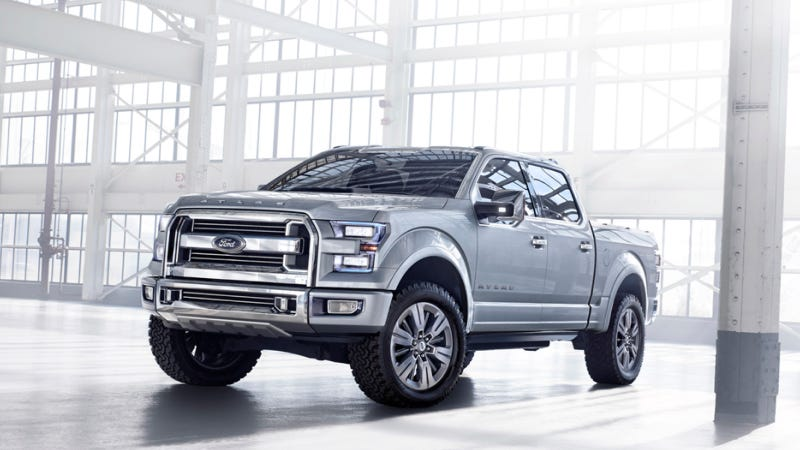 Why The 2015 Ford F150 Concept Is More Important Than The Corvette