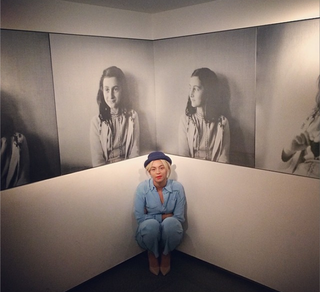 Beyoncé at the Anne Frank Museum in AmsterdamInstagram