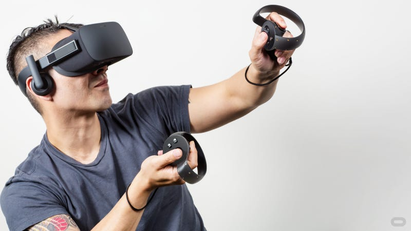 Illustration for article titled The Oculus Rift Has An Amazing Controller. Too Bad It's Sold Separately