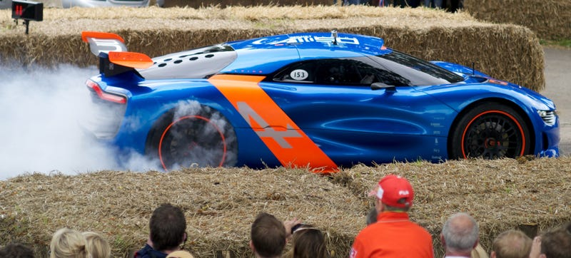 Illustration for article titled Renault Finally Does A 911-Fighting Alpine, But It Won't Look Like This