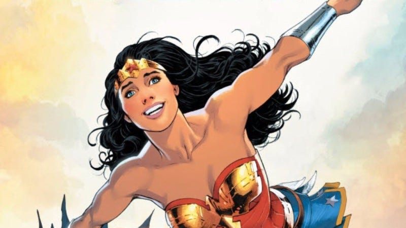 cbbb104d230 Wonder Woman Annual  1 is a surprisingly superb way to introduce fans of  the film to Diana in comics