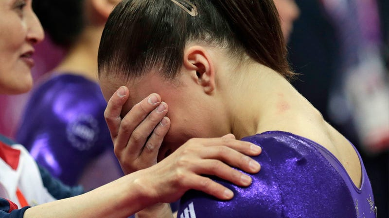 Illustration for article titled America Loves a Crying Gymnast