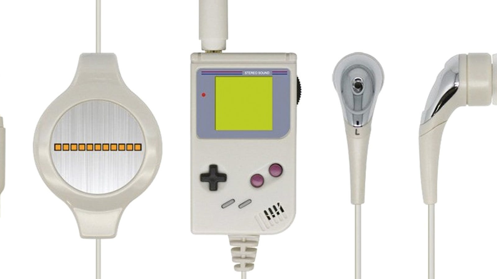 ear buds s3000 - These Tiny Game Boy Headphones Are Wonderful, Even If They Sound Awful