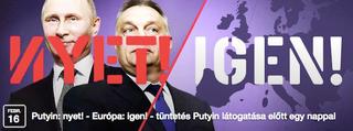 Illustration for article titled Putyin: nyet! Európa: da!