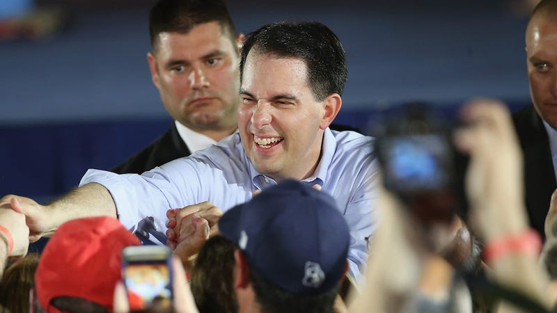 Illustration for article titled Scott Walker Says Gay Troop Leader Ban Protected Boy Scouts