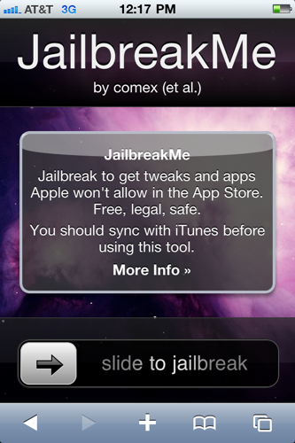 Illustration for article titled iPhone 4 Jailbreak Now Available: One Click, No Computer Required