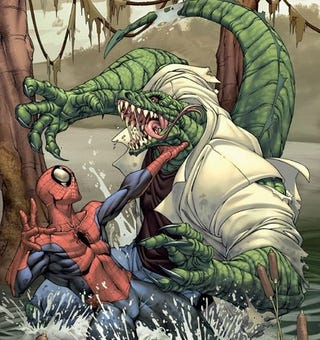 Illustration for article titled Dylan Baker Confirmed for Spider-Man 4. Is the Lizard Far Behind?