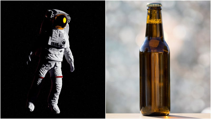 Illustration for article titled Good news for astronauts: Brewery working on a space-friendly beer bottle