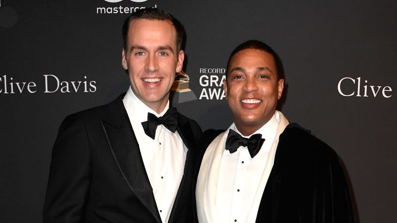 Tim Malone (L) and Don Lemon attend the Pre-GRAMMY Gala and GRAMMY Salute to Industry Icons at The Beverly Hilton Hotel on February 9, 2019 in Beverly Hills, California.