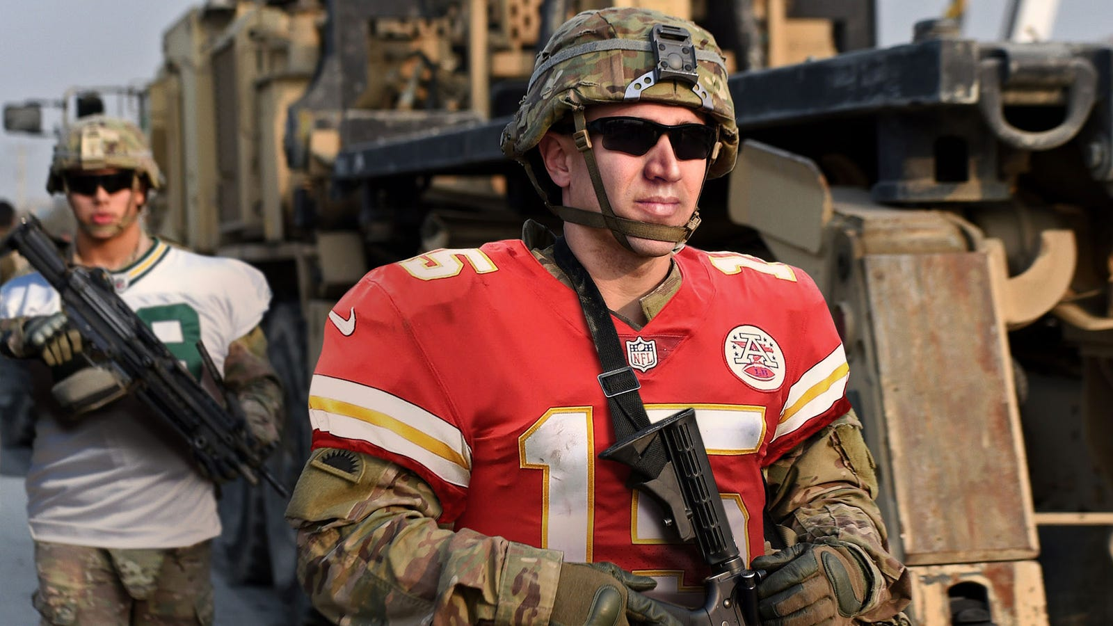 quality design 5473e 273dd U.S. Military Honors Sacrifices Of NFL Players By Wearing ...