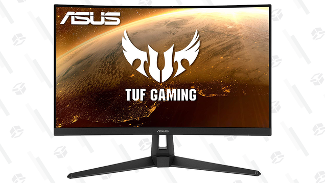 Grab This 27  Asus Curved Monitor for $220 and Play Games in Glorious 165 Hz