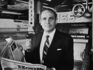 Arthur O. Sulzberger (Dirck Halstead/TIME & LIFE/Getty Images)