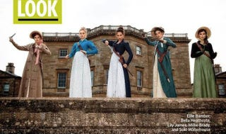 Illustration for article titled Pride & Prejudice & Zombies Debuts Its Zombie-Fighting Bennet Sisters