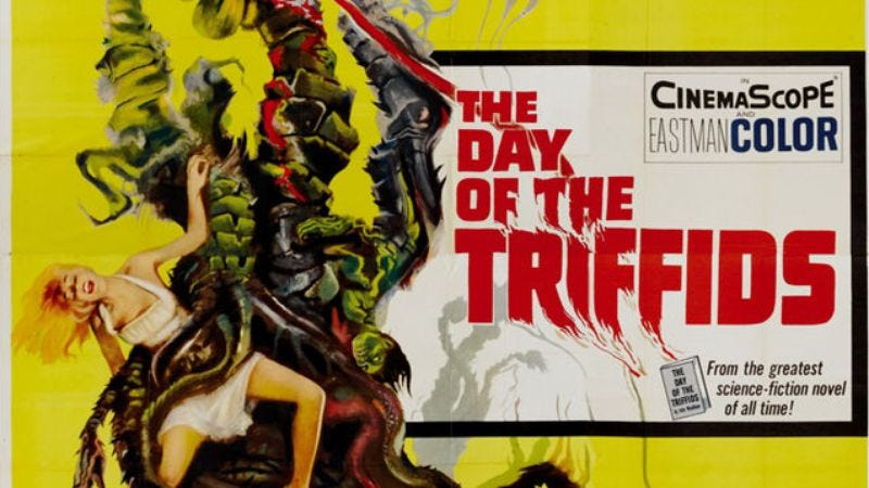 Illustration for article titled Mike Newell will direct that update of killer plant movie The Day Of The Triffids