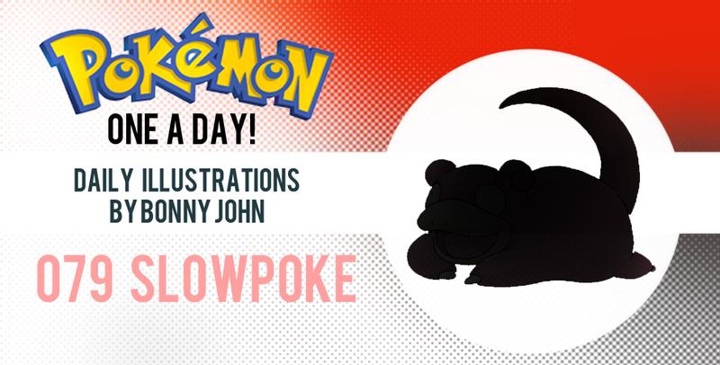 Illustration for article titled Sllllllllllllllooooooowwwwwwwwwwpoke!  Pokemon One a Day!