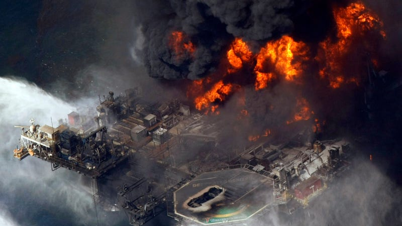This proposal removes protections that came after these flames broke out in the Gulf of Mexico in April 2010.
