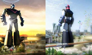 Illustration for article titled Korea's Massive 364-Foot Taekwon V Statue Will Crush Puny Humans