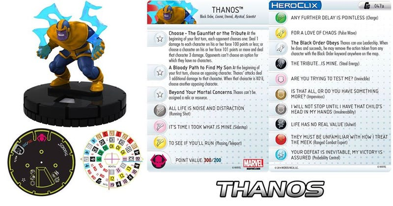 Illustration for article titled A Preview Of The Guardians Of The Galaxy Heroclix Miniatures